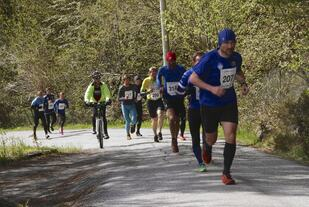 Anders Bringsvor (207) er ivrig deltaker på Eikenosa Opp. Anders arrangerer også Sjutoppsturen på Sandsøya langfredag hvert år