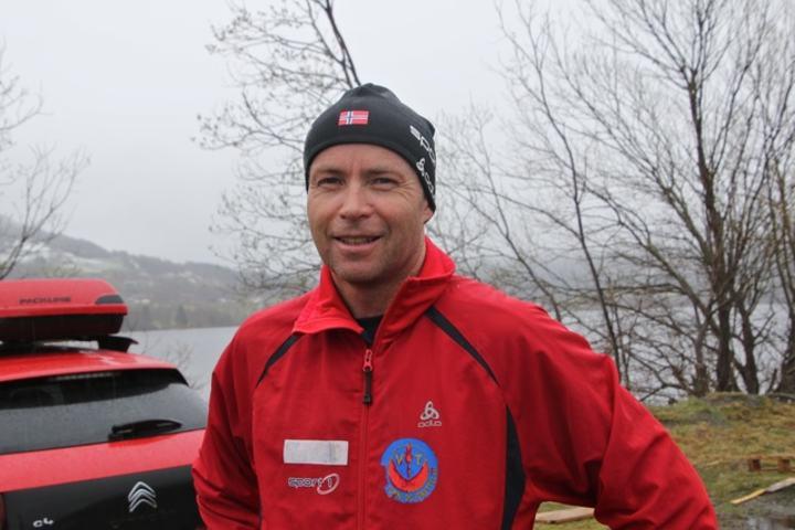 Bjørn Ole Vassbotn vant den 37. utgaven av Rotevatnet Rundt. Foto: Martin Hauge-Nilsen