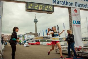 Annie Bersagel topper statistikken med 2:28:28 etter seier i Düsseldorf  Marathon.