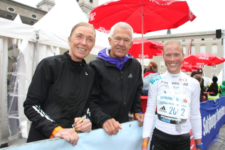 Synøve Brox, Jack Waitz og Marthe. Foto: Wolfgang Slawisch