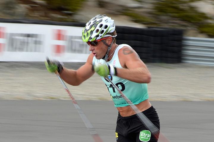 Anders Aukland har fått en dårlig start på oppkjøringa fram mot neste skisesong. (Foto: Bjørn Johannessen)