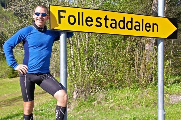 Arve Haugland i Follestaddalen IL. Foto: Martin Hauge-Nilsen