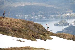 Spektakulert i Tveirafjellet Opp med Thorbjørn Ludvigsen,  Foto: Arrangøren