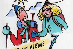 Illustrasjon fra Fjellvettreglel nr 7 (DNT)