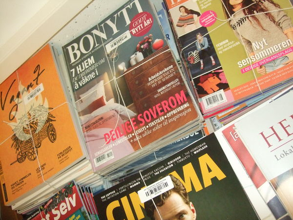 Tidsskrifter pakket for salg