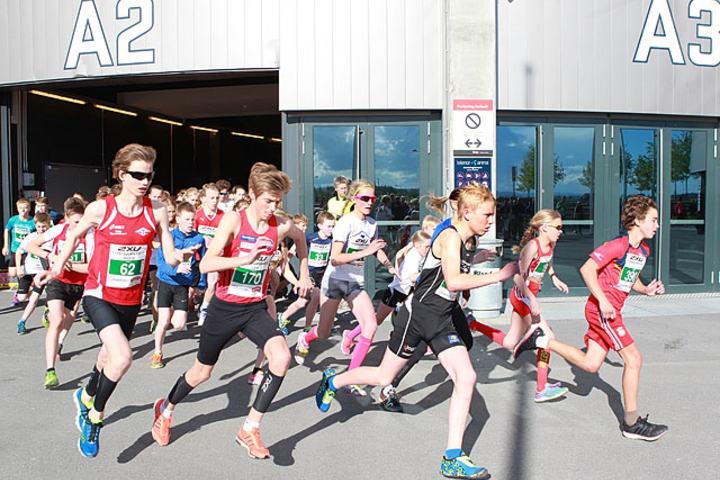 Øker: Antallet påmeldte til det 3 km lange ungdomsløpet øker i år. (Foto: Kjell Vigestad)