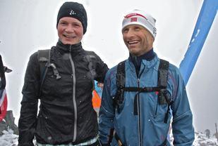 Merete Helgheim og Kristen Skjeldal. Foto: Martin Hauge-Nilsen