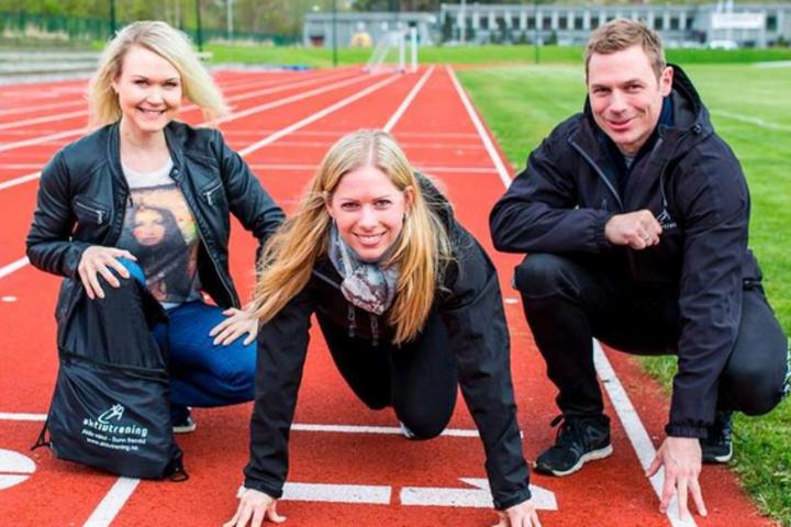 Arrangøren her ved Nina Furseth, Marianne Aas Krog og Björn Östbye. Foto: Andreas Steinnes Bjerknes/Vikebladet