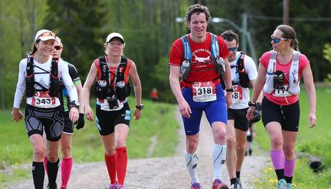 Fra Norges klart største ultraløp, EcoTrail 2015 (foto: Bjørn Hytjanstorp).