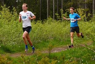 Kristian Braathen i samme løype 2015 da han ble nummer 4. Nå løp han 1:10 raskere og vant. (Foto: Bjørn Hytjanstorp)