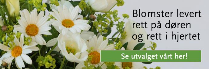 Blomster rett i hjertet!