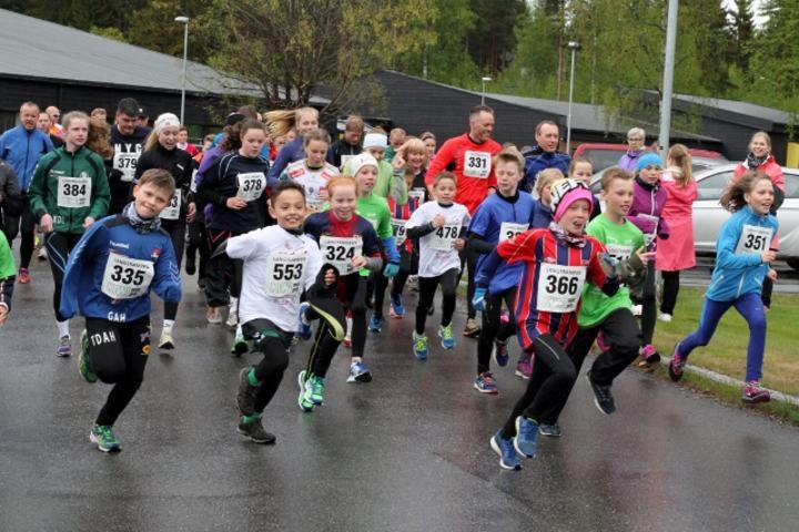 LØpeglede i regnværet i Nannestad (foto: Olav Engen).