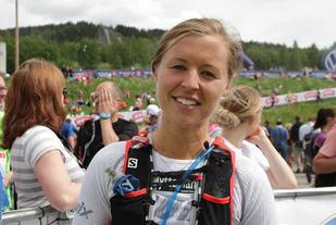 Marte Pedersen vant på Jessheim, bildet er fra da hun vant UltraBirken 2015 (foto: Kjell Vigestad).
