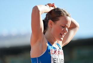 Yngvild Elvemo satte pers på 800 m innendørs. (Arkivfoto: Bjørn Johannessen)
