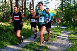 Fra et av løpene i ABIK-karusellen på Romerike 2015 (foto: Bjørn Hytjanstorp).