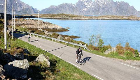 Lofoten Triathlon satser sterkt på et arrangement nært knyttet naturen. (Alle foto: arrangøren)