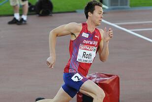 Gjennombruddet: I EM i 2012 kom Thomas Roth til finalen. Han leter etter en tilsvarende toppform i år. Kommer den på Bislett i dag? Foto: Bjørn Johannessen)