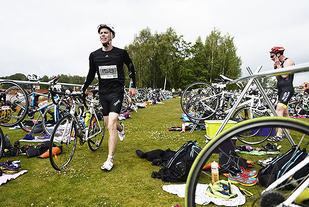 Østfold Triathlon arrangeres søndag 26. juni ved Tunevannet i Sarpsborg. (Foto: Bjørn Johannessen)