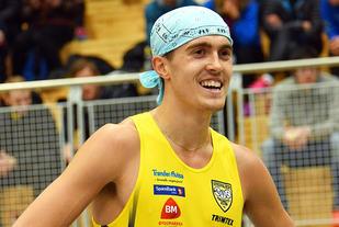 Roald Frøskeland er en av fire norske 800 m-løpere som er tatt ut til U23-EM. (Foto: Morten Stene)