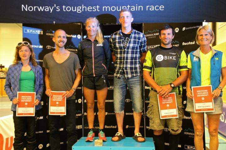 Beste på 75 km. Foto: Martin Hauge-Nilsen
