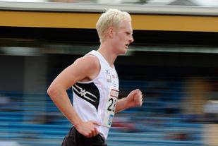 Hans Kristian Fløystad var raskest av Tjalve-guttene i E-cupen for klubblag. (Arkivfoto: Bjørn Johannessen)