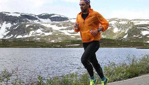 Morten Urdal Bakke vant den knappe 27 km lange andreetappen og ble nummer to sammenlagt. (Foto: Runar Gilberg)