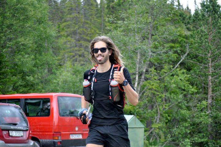 Felix Hug ble nummer tre i fjorårets ultraløp, og er påmeldt på nytt i år (foto: Kristina Tangen).