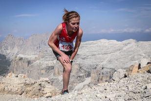 Eli Anne Dvergsdal viste igjen at hun er en av Europas beste fjelløpere. (Foto: arrangøren)