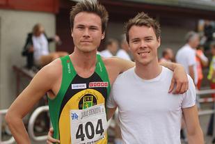 Andreas (til venstre) og Thomas Roth konkurrerer flittig og er stabile på et godt nivå. (Arkivfoto: Stig Vangsnes)