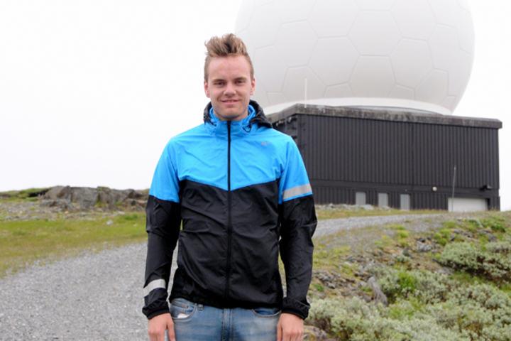 Ønsker velkommen: Initiativtaker Tomas Renå ønsker velkommen til Vennafjellet Opp 29. august.