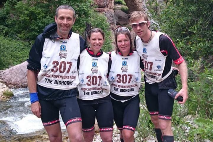 Laget: Jo Inge Fjellstad (t.v), Wendy Fjellstad, Helén Persson og Jacob Westerberg.