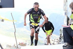 Race number 19 - Tim Bennett - Norseman Xtreme Tri 2012 - Norway - photo by chris royle/ boxingheaven@gmail.com