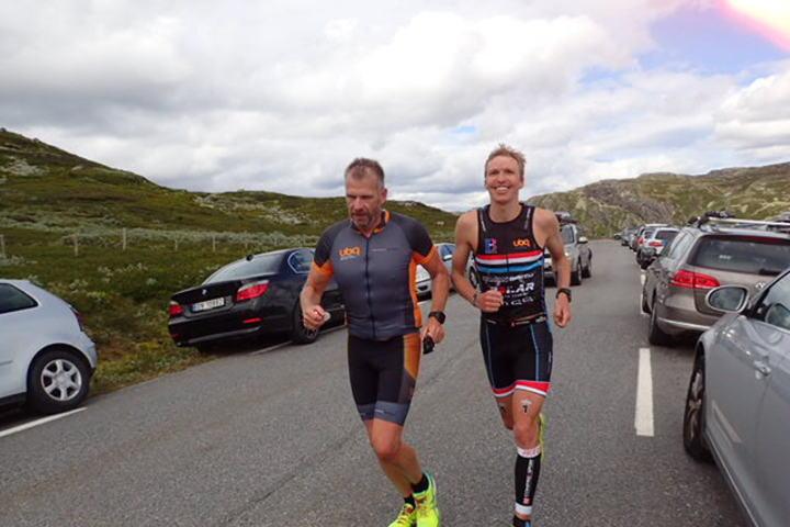 Vinner: Allan Hovda vant Norseman på tida 9.43.37. Foto: Linn Synnøve Leidal Røhme.