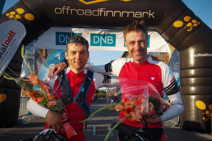 Sten-Arne Harjo og Geir Lien vinner årets OffRoad Finnmark 700