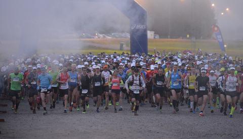 Fra starten i Sälen kl 05:00 lørdag morgen (Foto UltraVasan/Nisse Schmidt).