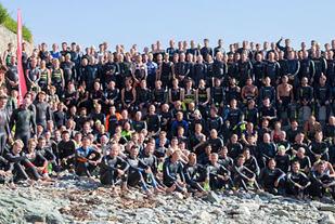 Gruppebilde Trondheim Triathlon 2015 Foto: Ketil Skjerve
