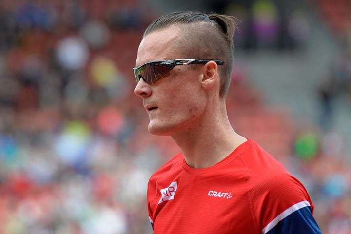 Henrik Ingebrigtsen må se resten av VM fra sidelinja. (Arkivfoto: Bjørn Johannessen)