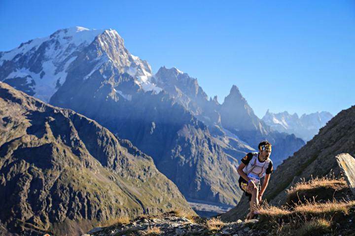 Pau Bartolo fra Spania var raskest i den 119 km lange og meget kuperte TDS-løypa. (Foto: Ultra-Trail du Mont-Blanc® - photo Franck Oddoux)