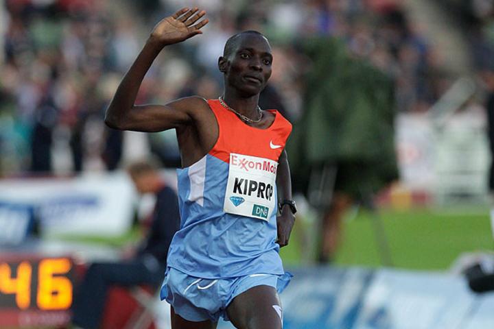 Trass i langt fra perfekt taktisk løping vant Asbel Kiprop 1500 meteren i VM. (Arkivfoto: Per Inge Østmoen)