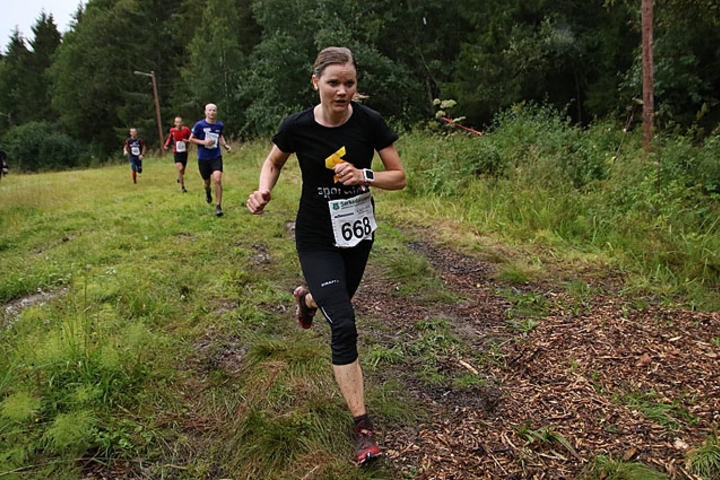 Anne Johanne Lind, Sporveien Oslo BIL vant fjorårets Sørkedalsløpet slik hun også gjorde i 2012. Foto: Heming Leira