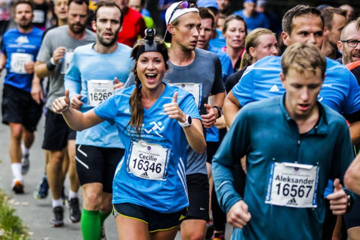 Oslo Maraton  Foto:Arrangøren