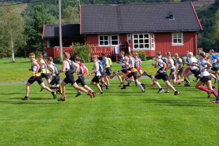 Start årets løp. Foto: Arrangøren