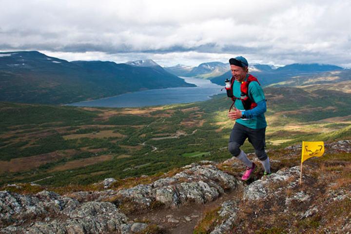 Håkon Inge Blokkus i fjorårets løp. Foto: Martin I Dalen