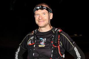 Arkivbilde fra da Henning løp Nordmarka Ultra Challenge i 2015