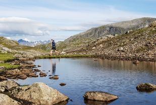 Lofotens vakre natur. Foto: Kai-Otto Melau.