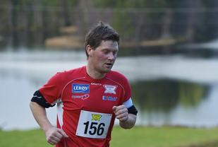Fra Brakvatnet halvmaraton i 2013. Foto: Jørgen Pettersen