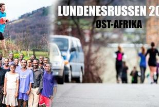 Reklameplakat for årets innsamlingsløp.