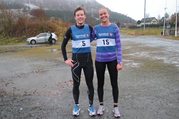 Martin Hauge-Nilsen og Ingrid Festø. Foto: Arild Foldal