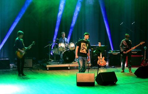 Bilde med band UKM 2015