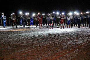 Bildet fra Hodelyktrennet i Nannestad. Nå trår også Sørkedalsrennet til med Hodelyktrenn.